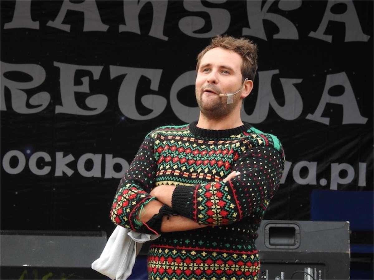 Marcin Daniec szybko nawiązał kontakt z publicznością