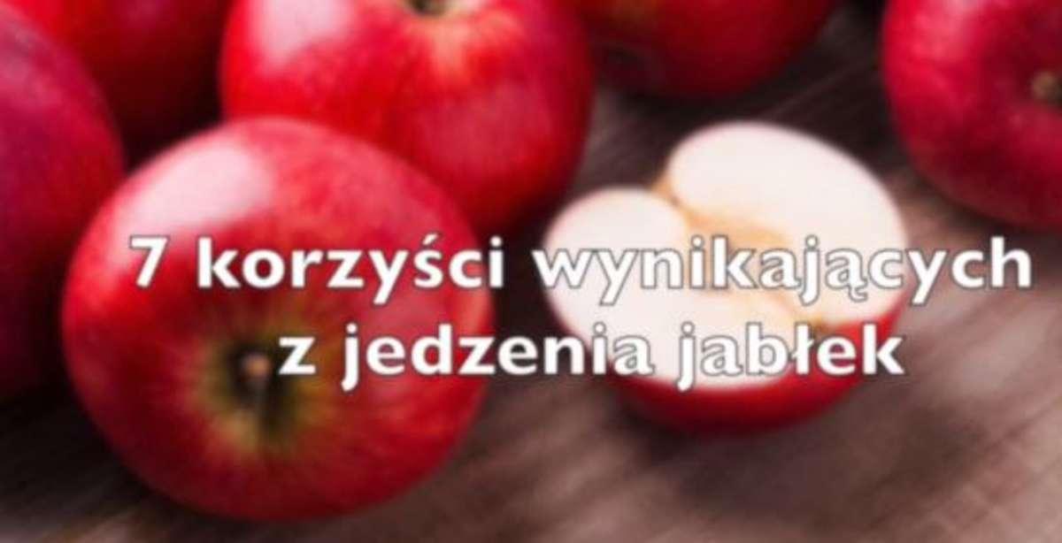 7 korzyści wynikających z jedzenia jabłek - full image