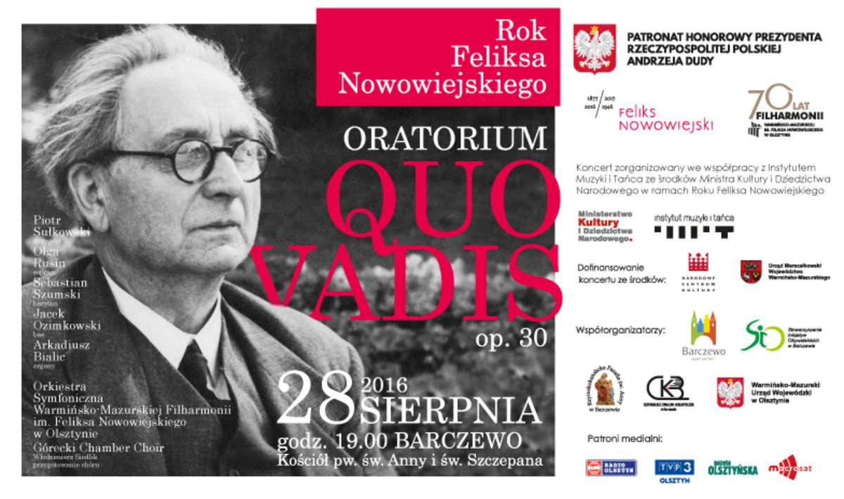 Koncert Oratorium Quo vadis w Barczewie - full image
