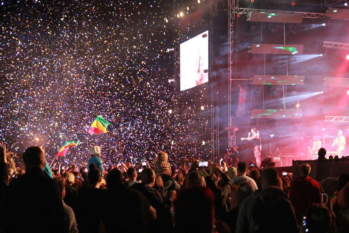 Ostróda Reggae Festival  za nami. Do zobaczenia za rok!  - full image
