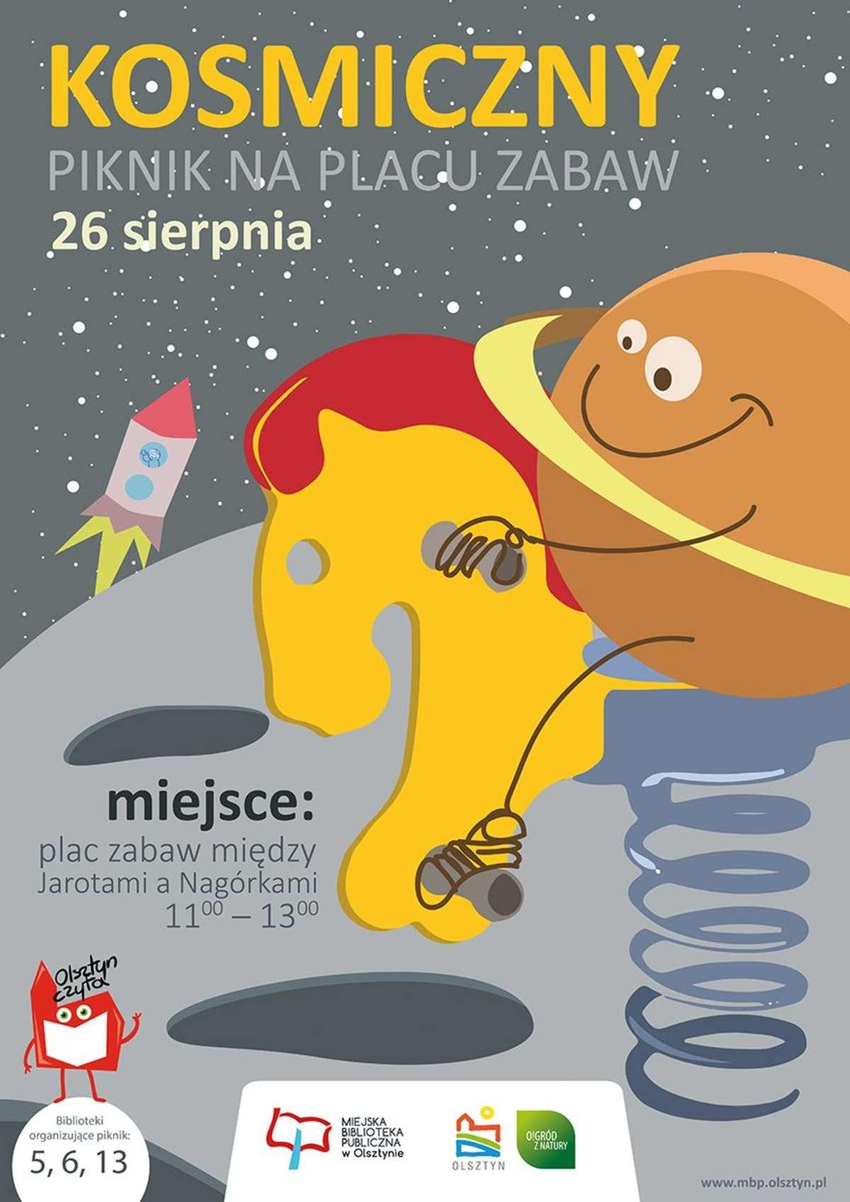 Biblioteka zaprasza na Piknik Kosmiczny - full image
