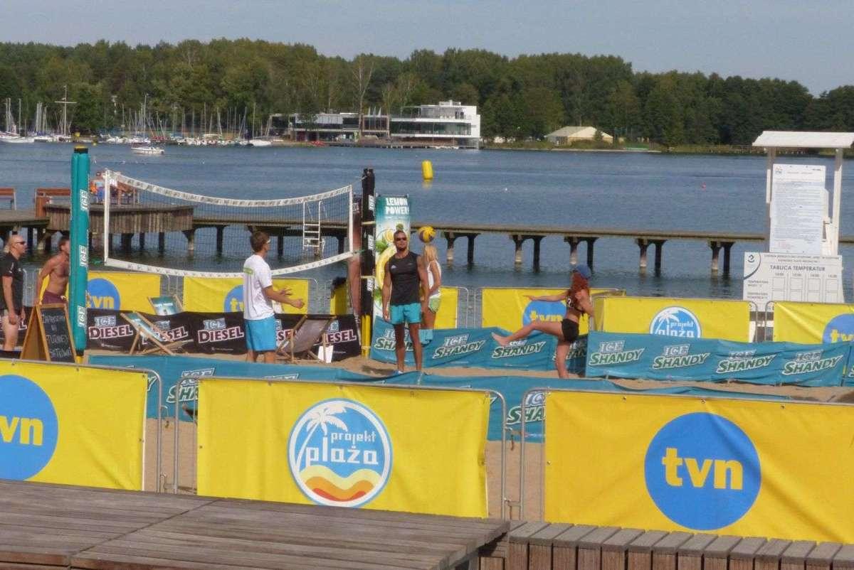 Projekt Plaża nad jeziorem Krzywym w Olsztynie [PROGRAM] - full image