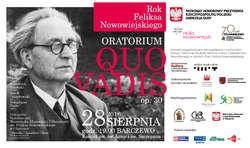 Koncert Oratorium Quo vadis w Barczewie