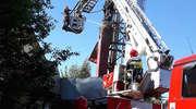 Pożar kotłowni w Kowalach Oleckich