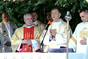 Fotorelacja. Mszę św. odprawił biskup polowy Wojska Polskiego