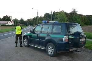Funkcjonariusze straży granicznej przerwali podróż pijanej kobiecie