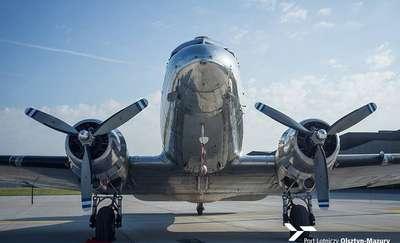 Legenda lotnictwa wylądowała w porcie Olsztyn - Mazury