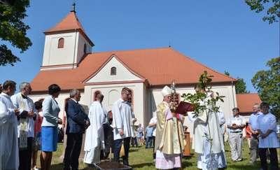 Jubileusz 450-lecia budowy kościoła w Cichym