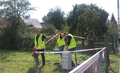 Rozczłonkowane ciało znaleziono w mieszkaniu w Korszach