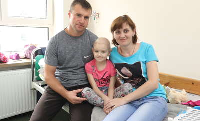 Ciężko chora dziewczynka znalazła ratunek w Olsztynie