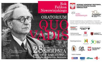 """Koncert Oratorium """"Quo vadis"""" w Barczewie"""