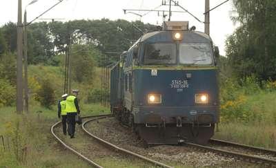 Pod Olsztynem wykoleiła się lokomotywa. Ruch pociągów wstrzymany