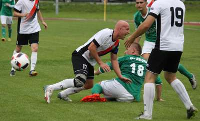 Cresovia dwa razy prowadziła, ale derby z Łyną na remis