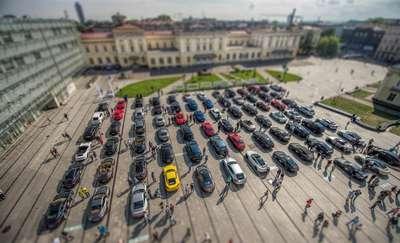 100 sportowych aut na drogach Warmii i Mazur