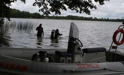 Znaleziono ciało w oleckim jeziorze. Prawdopodobnie to poszukiwany mężczyzna