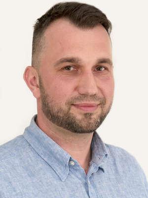 Piotr Gójski, kierownik regionalny ds. bydła De Heus i koordynator Akademii Zdrowej Racicy