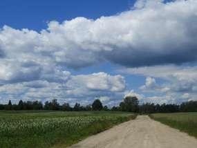 Przyszły chmury na Mazury