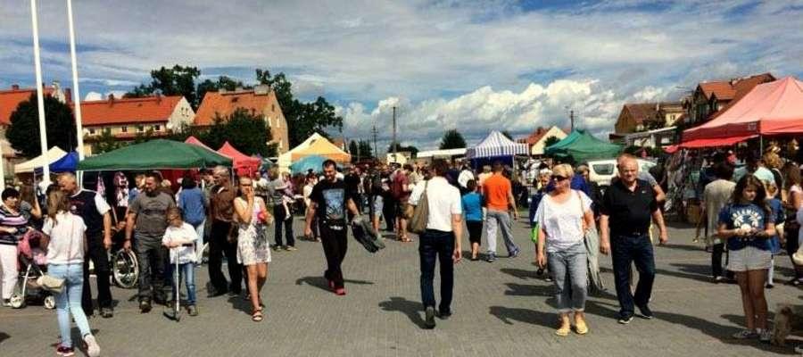 Jarmark chętnie odwiedzają nie tylko mieszkańcy Wydmin, ale i goście z sąsiednich gmin i turyści