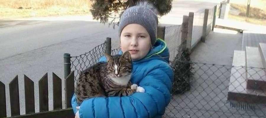Zaginął kociak widoczny na zdjęciu