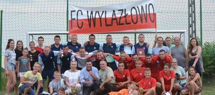 Mistrzem Gminy została drużyna FC Wylazłowo
