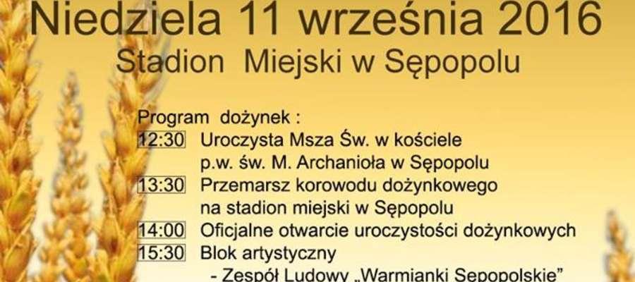 Dożynki Gminne Sępopol 2016