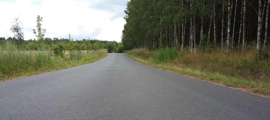 Nowa droga gminna łącząca drogę wojewódzką 521 z Ząbrowem (Gmina Wiejska Iława)