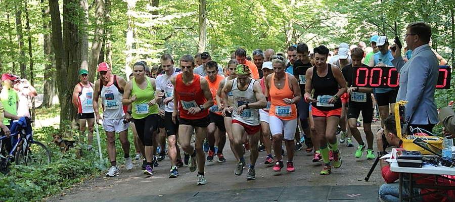 Start do biegu na dystansie 10 km