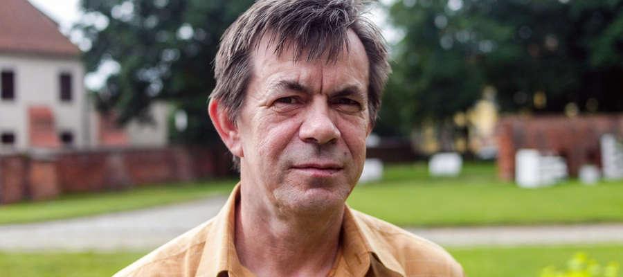 Leszek Marcinkowski, przewodnik PTTK Ziemi Elbląskiej