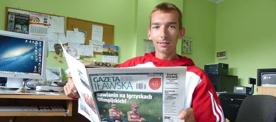 Jeszcze kilka lat temu Miłosz Jankowski odwiedzał naszą redakcję w Iławie, by porozmawiać o zawodach juniorskich bądź młodzieżowych. Dziś gościliśmy tu olimpijczyka pełną gębą!