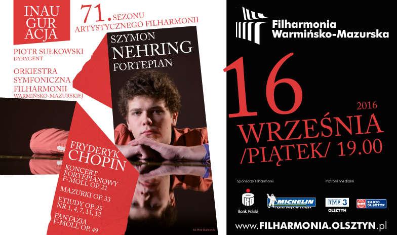 Inauguracja 71 sezonu artystycznego w Warmińsko- Mazurskiej Filharmonii - full image