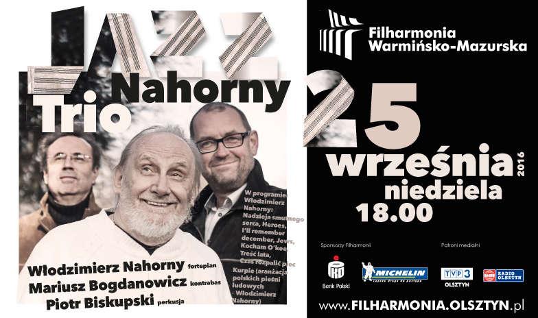 Jazz zabrzmi w Filharmonii Warmińsko-Mazurskiej - full image