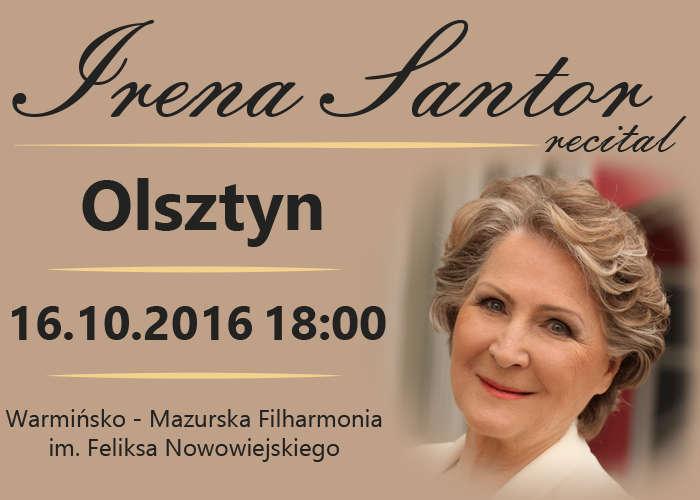 Recital Ireny Santor w olsztyńskiej filharmonii - full image