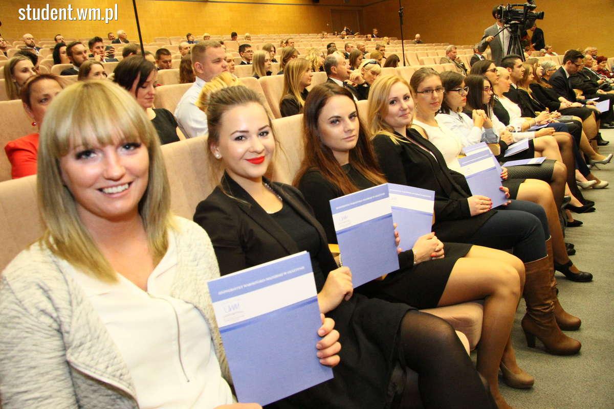 Uroczysta inauguracja roku akademickiego na UWM - full image