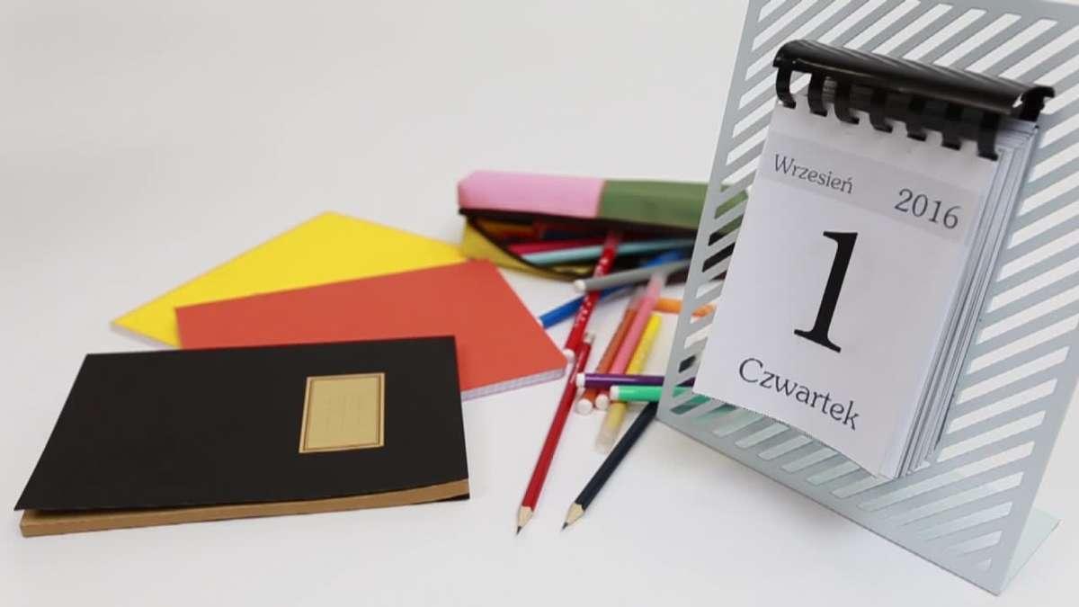 Kiedy wolne? Sprawdź kalendarz na nowy rok szkolny! - full image