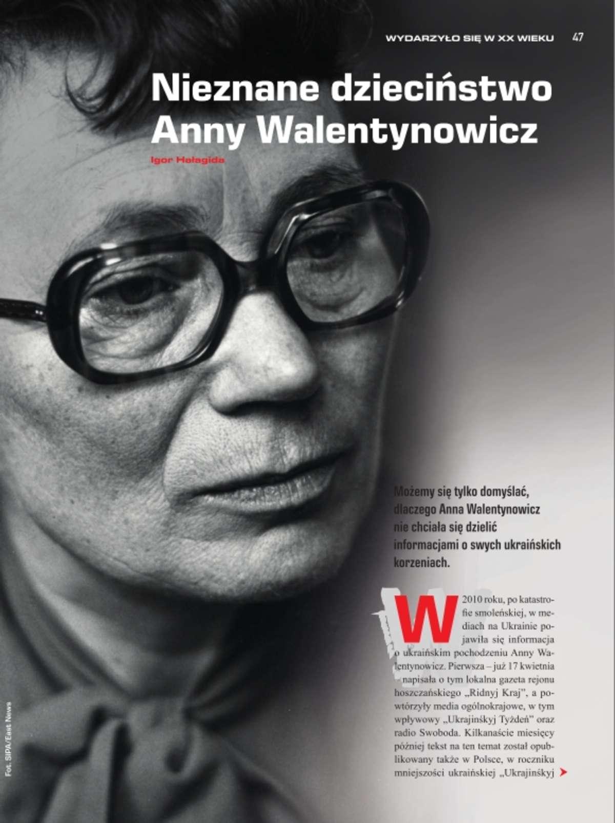 Ukraińskie korzenie Anny Walentynowicz - full image