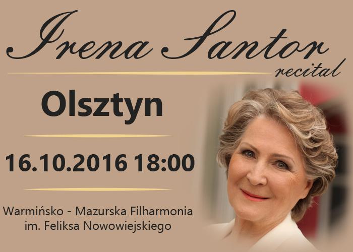 Recital Ireny Santor w olsztyńskiej filharmonii