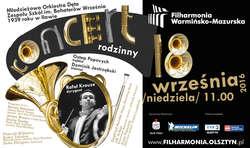 Koncert rodzinny w Olsztynie. Wystąpi jedna z najbardziej znanych w Polsce orkiestr dętych