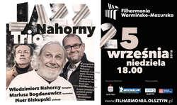 Jazz zabrzmi w Filharmonii Warmińsko-Mazurskiej