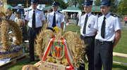Strażacy ze Stupska  na wojewódzkich dożynkach