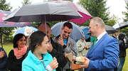 Deszczowe dożynki w Orłowie