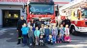Dzieci z SP 6 odwiedziły strażaków
