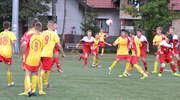 Piłkarze z Wikielca dostali piątkę od juniorów młodszych AP Ostróda