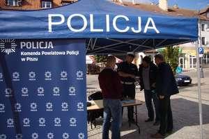Policjanci promowali Krajową Mapę Zagrożeń Bezpieczeństwa