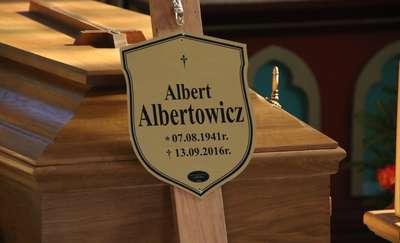 Pożegnaliśmy dyrektora i działacza społecznego Alberta Albertowicza