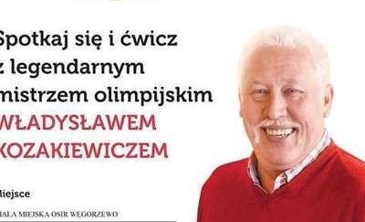 Spotkaj się i ćwicz z legendarnym mistrzem olimpijskim Władysławem Kozakiewiczem