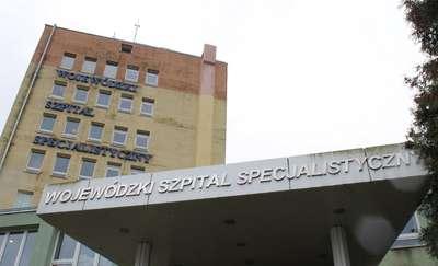 Protest pielęgniarek i położnych w Szpitalu Wojewódzkim w Olsztynie