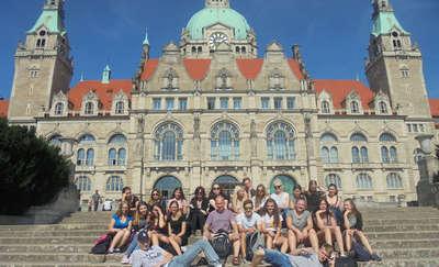 """Uczniowie """"odzieżówki"""" mieli dłuższe wakacje. Pojechali do Nienburga"""