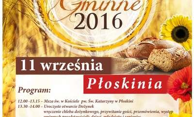 Dożynki Gminne 2016 w Płoskini