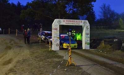 Jesienny, Nocny Rally Sprint na autodromie
