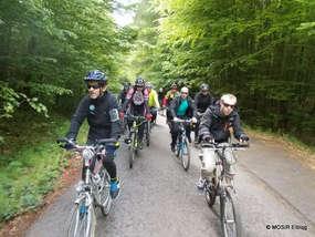 """Zwiedzanie... na rowerze. Szlaki """"W krainie bizonów"""" i """"Szlak Mennonitów"""""""